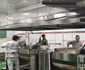 霍氏机械大型炒菜机