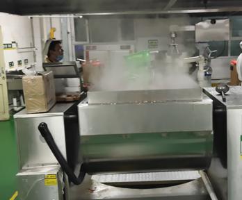 大型食堂炒菜机的优点