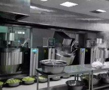 西安中学使用炒菜机