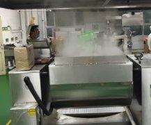 上海西贝中央厨房惊现自动炒菜机器人